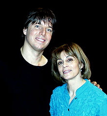 JoAnn with Joshua Bell