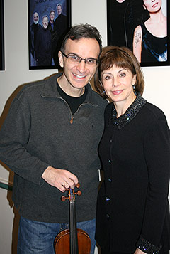 Gil Shaham and Falletta