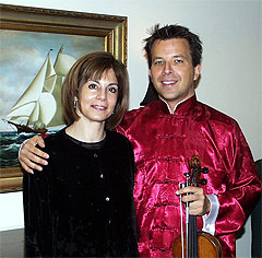 Falletta and Michael Ludwig, BPO Concertmaster